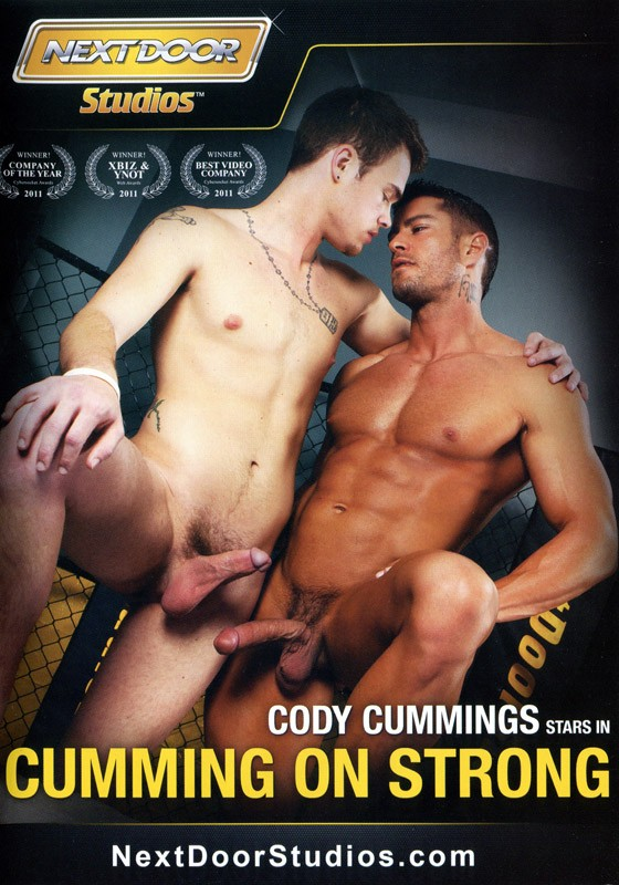 Cumming On Strong DVD - Front