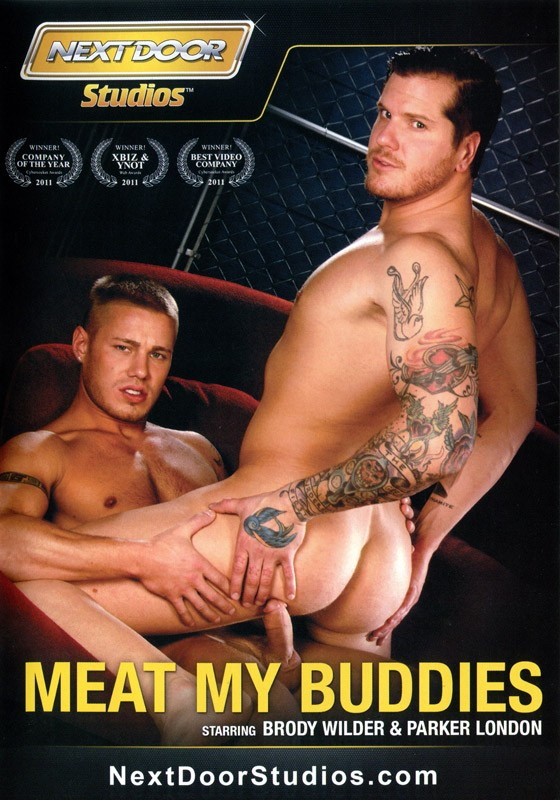 Meat My Buddies DVD - Front