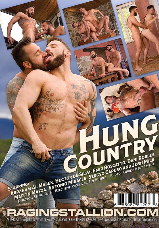 Hung Country DVD - Back