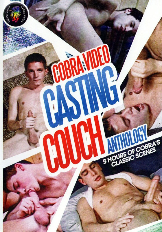 Cobra Anthology: Casting Couch DVD - Front