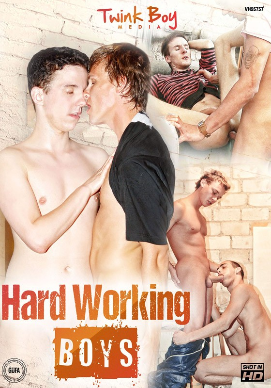 Hard Working Boys DVD - Front