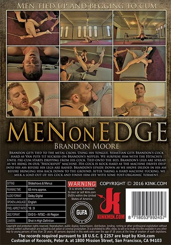 Men on Edge 51 DVD (S) - Back