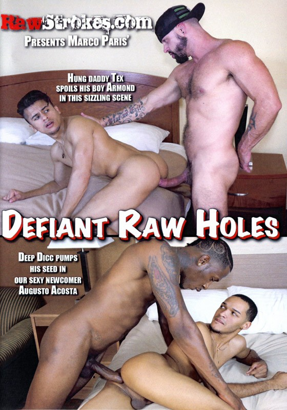 Defiant Raw Holes DVD - Front