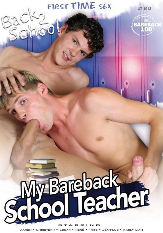 My Bareback School Teacher DVD - Front