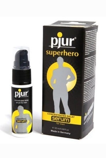 Pjur Superhero Concentrated Delay Serum Pump Bottle 20ml - Gallery - 002