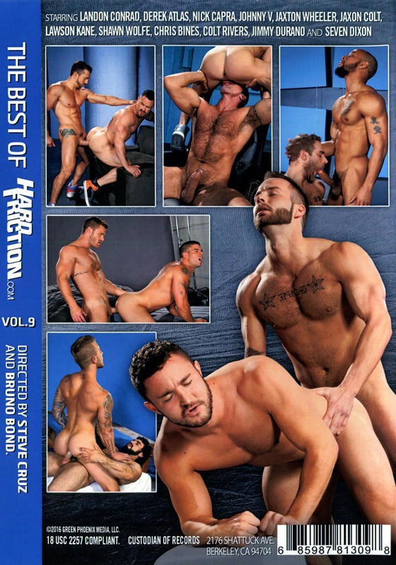 Best of Hard Friction Vol. 9 DVD - Back