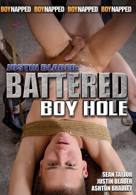 Justin Blaber: Battered Boy Hole DVD - Front