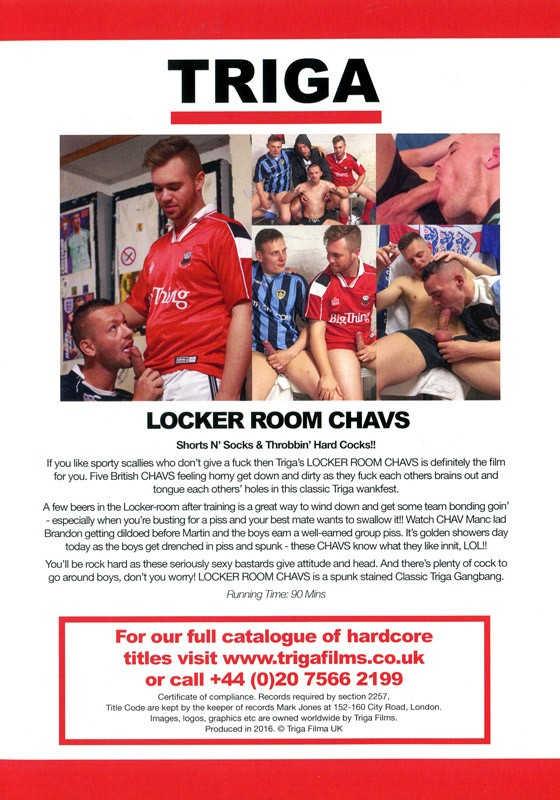 Locker Room Chavs DVD - Back