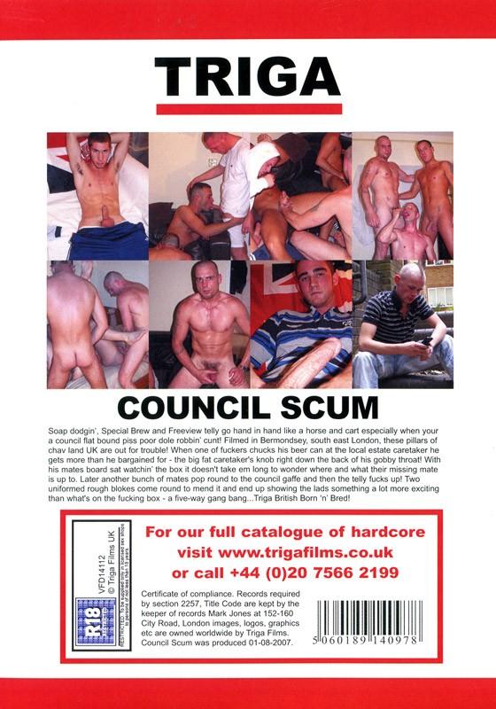 Council Scum DVD - Back