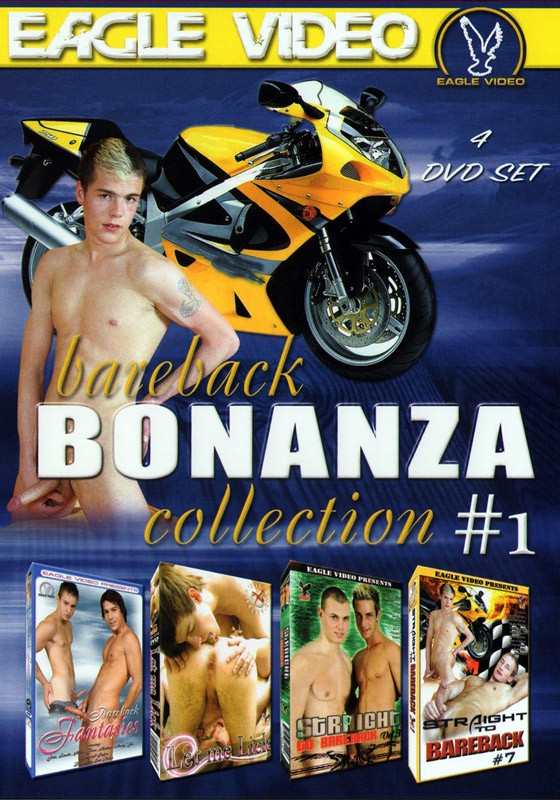 Bareback Bonanza Collection #1 DVD - Front
