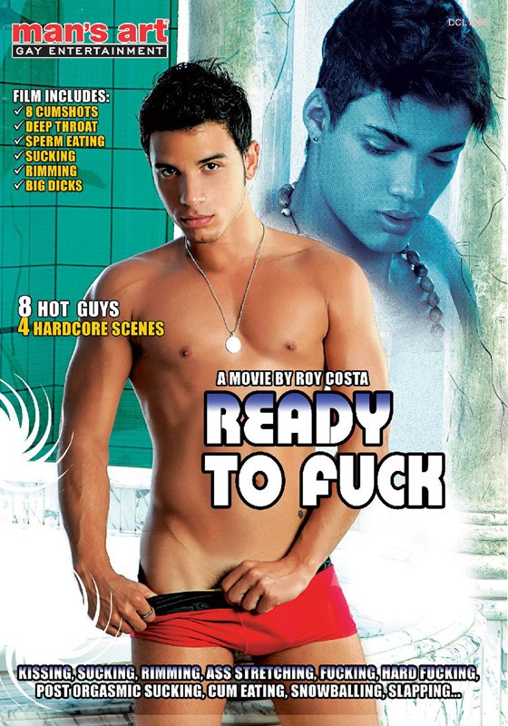 Ready To Fuck DVD - Front