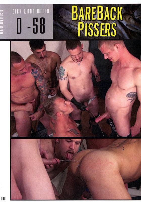 Bareback Pissers DVD - Front
