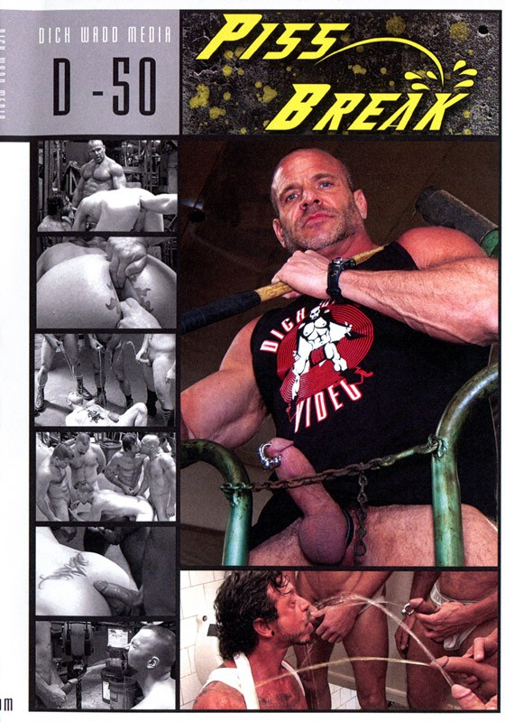 Piss Break DVD - Front