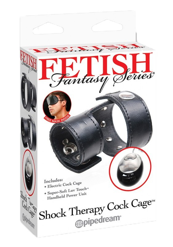 FF Shock Therapy Cock Cage - Front