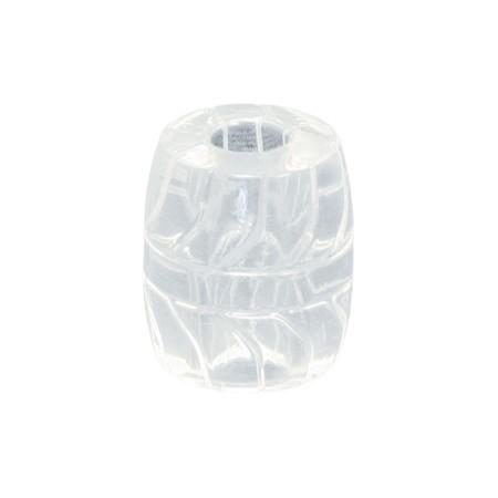 Fat Boy Silicone TPR Ball Stretcher 50 mm. - Ice Clear - Gallery - 002