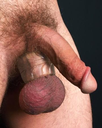 Fat Boy Silicone TPR Ball Stretcher 50 mm. - Ice Clear - Gallery - 004