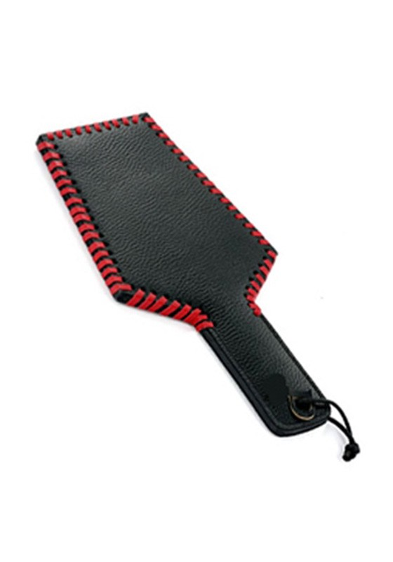 Leather Paddle - Wide Heavy Grain - Front