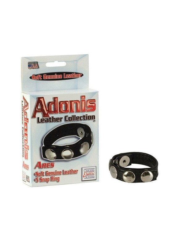 Adonis Leather Collection - Ares - Front