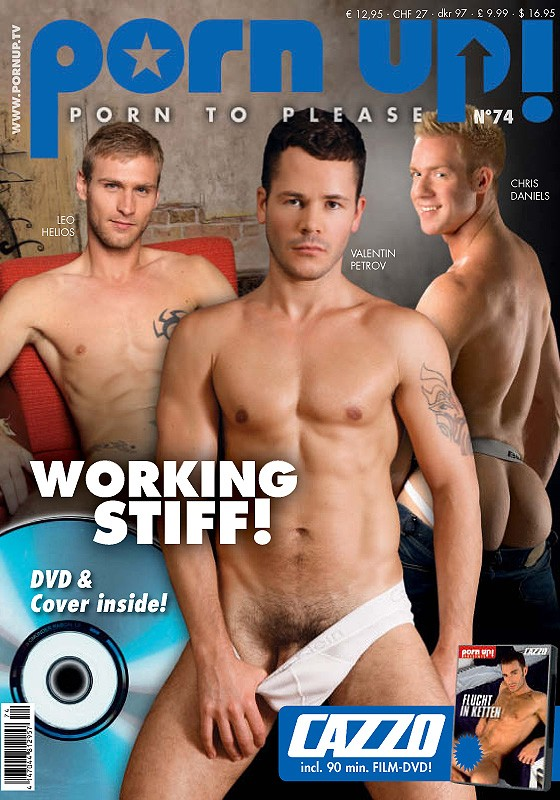 Porn Up 74 Magazine - Front