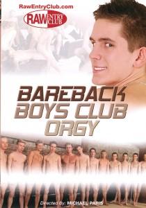 Bareback Boys Club Orgy DVDR (NC)