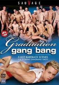 Graduation Gang Bang DVDR (NC)