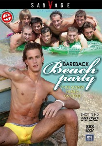 Bareback Beach Party (SauVage) DVD