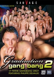 Graduation Gang Bang 2 DVDR