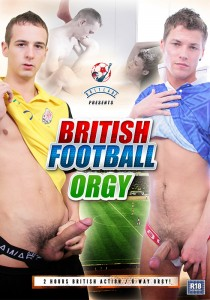 British Football Orgy DVD (NC)