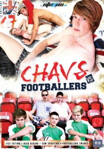 Chavs vs Footballers DVD (NC)
