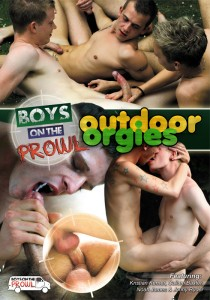 Outdoor Orgies DVD