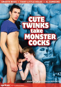 Cute Twinks Take Monster Cocks DVD