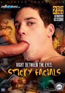 Right Between The Eyes: Sticky Facials DVD (NC)