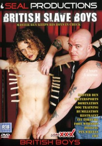 British Slave Boys DVD - Front
