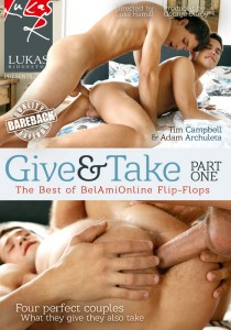 Give & Take DVD - Front