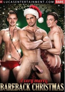 A Very Merry Bareback Christmas DVD - Front