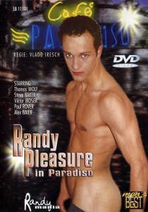 Randy Pleasure In Paradiso DVDR