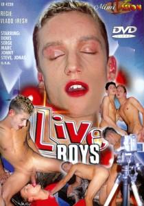 Live Boys DVDR