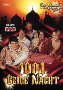 1001 Geile Nacht DVD - Front