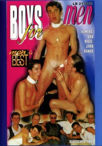 Boys For Men DVD