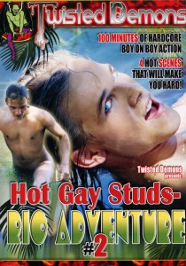 Hot Gay Studs - Rio Adventure Vol. 2 DVD