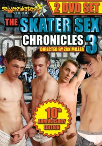 The Skater Sex Chronicles 3 DVD (NC)