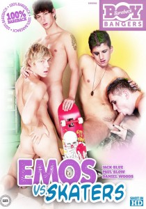 Emos VS Skaters DVD
