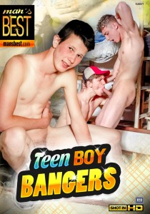 Teen Boy Bangers DVD
