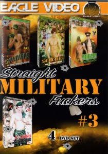 Straight Military Fuckers 3 DVD