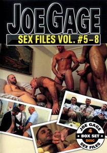 Joe Gage Sex Files vol. #5-8 DVD (S)