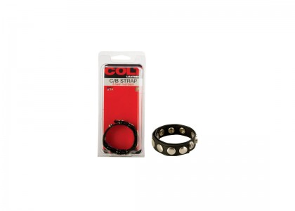 Colt 8 Snap Fastener Leather Strap