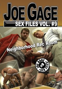 Joe Gage Sex Files vol. #9: Neighborhood Rec Room DVD (S)