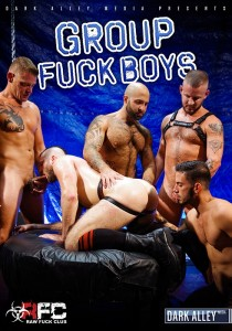 Group Fuck Boys DVD