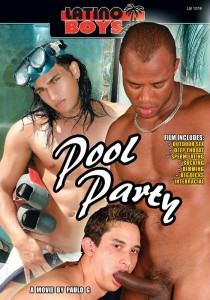 Pool Party (Latino Boys) DVD (NC)