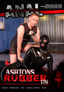 Anal Destruction: Ashtons Rubber Toy DVDR